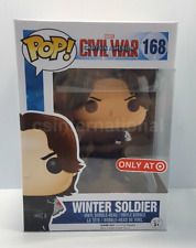 Funko Pop Marvel Captain America Civil War Armless Winter Soldier Target NEW