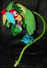 FISHER PRICE Rainforest Peek-A-Boo Crib MOBILE Replacement ARM Part Frog Parrot