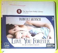 Love You Forever by Robert Munsch (CD, Children's Group)