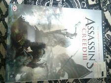 Assassin's Creed 3 III Game Instructional Manuel New Sealed