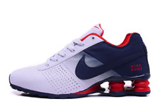 Nike Shox NZ Deliver size 9UK, 44EUR navy / white / red