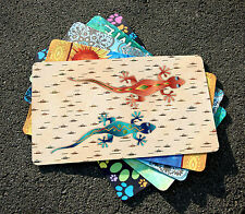 Toland Geckos 18 x 30 Decorative Southwest Desert Lizard Floor Mat Doormat