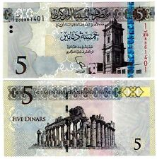 Libya 5 Dinars Uncirculated Note 2015