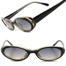 Two Tone Vintage Old Fashioned 50's Rockabilly Womens Small Cat Eye Sunglasses
