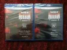 Masters of Horror Season 1 Volume 3 ( III ) & 4 ( IV ) : New / Unopened Blu-ray