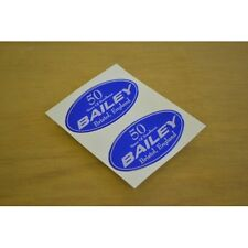 BAILEY Caravan 50 Years Celebration Dent Cover Stickers Decals Graphics - PAIR