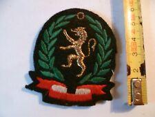 (P2) ECUSSON MILITAIRE ARMEE  MILITARIA  LION LAURIERS  LYON ??