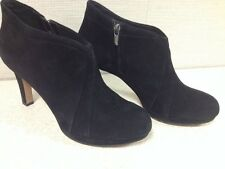 Clarks Kently Laila Black Suede Ankle Bootie- US Size 11M,  26101632