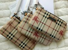 *LIMITED* BURBERRY CLUTCH WALLET WITH STRING - Brown Check