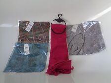 Tie rack 4 scarfs NEW!!! total price £43.96