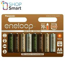 8 PANASONIC ENELOOP TONES EARTH RECHARGEABLE AA HR6 BATTERIES 1.2V 1900mAh NEW