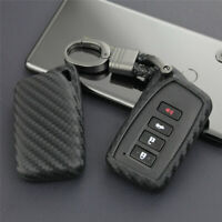 Car Key Fob Case Cover Shell For NX GS RX IS ES GX LX RC 250 350 LS Carbon Fiber