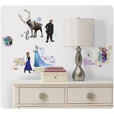 Disney Frozen Princess Elsa Anna Olaf Kristoff Movie Wall Room Decals Sticker