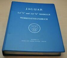 Jaguar S-Type 3.4 3.8 Liter XK Motor Bremsen S Type 1963-1968 Werkstatthandbuch