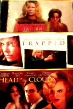 3 CHARLIZE THEORON Movies HEAD in the CLOUDS TRAPPED MONSTER 3-Disc Set SEALED