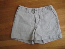 Gap womens khaki CARGO SHORTS Size 1 brown pocket summer spring classic basic
