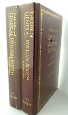 THE LIFE OF GENERAL WILLIAM BOOTH Vol 1 & 2 Begbie Hardback Gold Print BRAND NEW