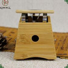 One Holder Healing Therapy Bamboo Mild Moxibustion Box 18mm Moxa Stick Roll 艾灸盒