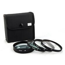 Jackar 52mm Close-Up Filter Set (+1,2,4,10) For Canon EF 55-200mm EFS 60mm EF-M
