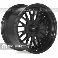 Circuit CP21 18x9.5 18x11 5-114.3 +20 F Black Wheels Fit 94-04 Mustang GT Cobra