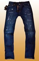 DSQUARED2 Herren Jeans Hose Slim Fit Größe 48 neu mit Etikett.