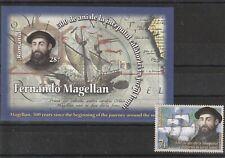 2019 ROMANIA STAMPS MAGELLAN SHIP EXPLORER PORTUGAL MNH NAVAL HISTORY