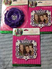 Llz Locker Lookz School 2 frames, flower Purple Limited