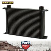 Aeroflow Heavy Duty 25 Row Engine Transmission Oil Cooler 330 x 193 x 51 -10ORB
