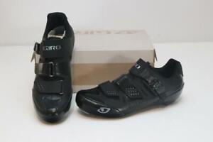 New Giro Women's Solara II Cycling Road Bike Shoes 39.5 8 Black 3-Bolt Race