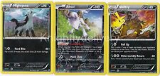 Pokemon Sidney Complete  Deck - Mightyena - Shiftry - Absol - NM - 60 Cards