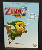 The Legend of Zelda Phantom Hourglass Premiere Edition Official Game Guide Book