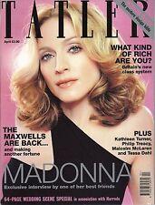 TATLER APRIL 2000 MADONNA COVER