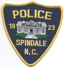 **SPINDALE NORTH CAROLINA POLICE PATCH**