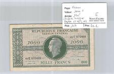France 1000 Francs 1945 Pick 107 Fayette VF 13 (02)