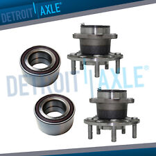 2007-2009 Dodge Caliber AWD Compass Patriot 4WD Front Wheel Bearing and Rear Hub