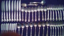 Melrose by Gorham Sterling Silver Flatware Set 8 Service 50 Pieces Dinner Set