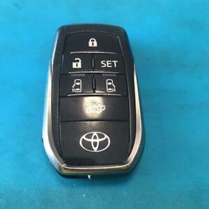 Toyota Verfire smart key cover genuine 30 series 6 Button Keyless