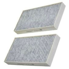 Carbon Pollen Cabin Filters x 2 Mann Fits Renault Laguna MK III / Coupe 16v dCi