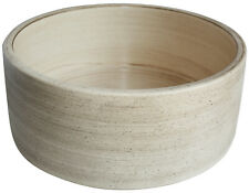 Bathroom Round Handmade Above Counter Concepcion Fango Ceramic Vessel Sink