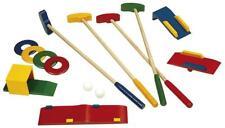 Crazy Golf, Mini-Golf Spiel Set aus Holz, Kinder Golf Holzspielzeug In & Outdoor