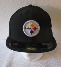 9db373e2e8d NWT New Era Pittsburgh Steelers 59Fifty Mens On Field Fitted Hat Cap Black   35