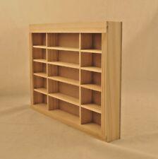 Store Shelf Unit 9954 dollhouse miniature 1/12 scale Houseworks unfinished wood