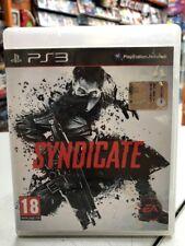 Syndicate Ita PS3 USATO GARANTITO