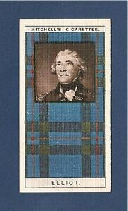 CLAN ELIOTT  ELLIOT CLAN TARTAN original 1927 BOLDLY & RIGHTLY  Redheugh Tower