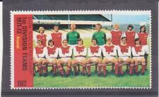 1971-1972 SUN SOCCERSTAMPS, 1ST DIVISION TEAMS, ALL MNH, TEAMS (A TO L)