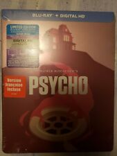 Psycho (Blu-ray Disc 2014) Limited Edition Steelbook New Sealed