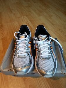 asics gel trainers sneakers woman size 6