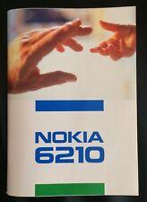 Bedienungsanleitung für Nokia 6210 - Sehr guter Zustand