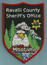 RAVALLI COUNTY SHERIFF MONTANA POLICE PATCH