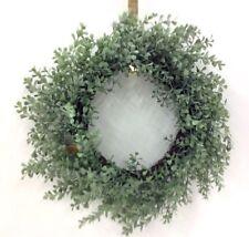 "Boxwood Greenery Vine Wreath~PVC/Artificial~20""~Dusty Green"